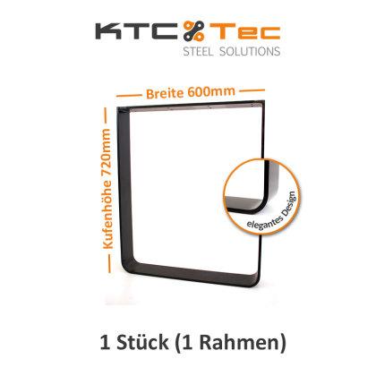 Breite 600 mm - 1 Stück (1 Rahmen)