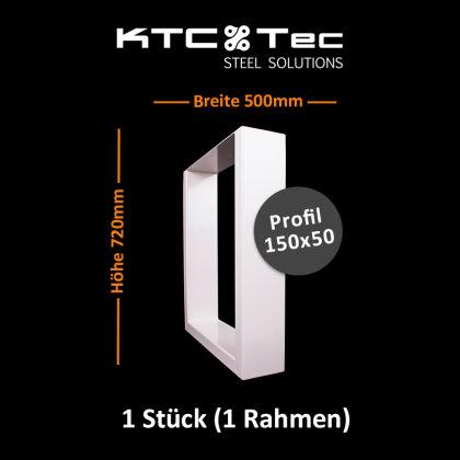 Breite 500 mm - 1 Stück (1 Rahmen)