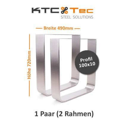 Breite 500 mm - 1 Paar (2 Rahmen)