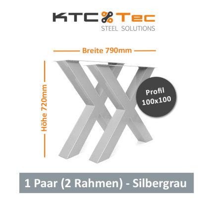 RAL 7001 Silber-Grau glänzend