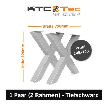 RAL 9005 Tief-Schwarz matt